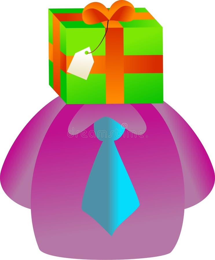 Het gezicht van de gift stock illustratie