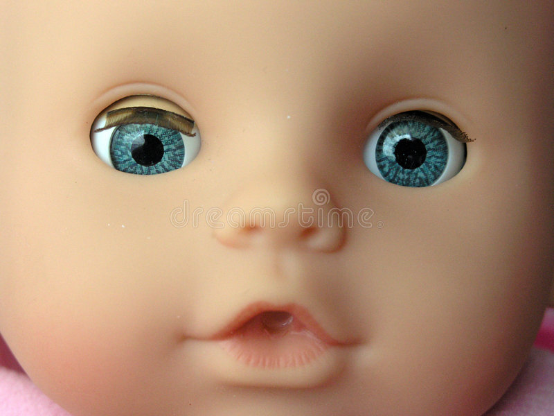 Het gezicht van de marionet royalty-vrije stock afbeelding