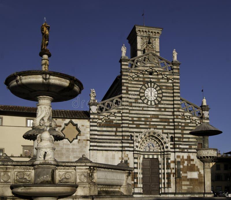 Het gezicht van de Pratokathedraal royalty-vrije stock foto