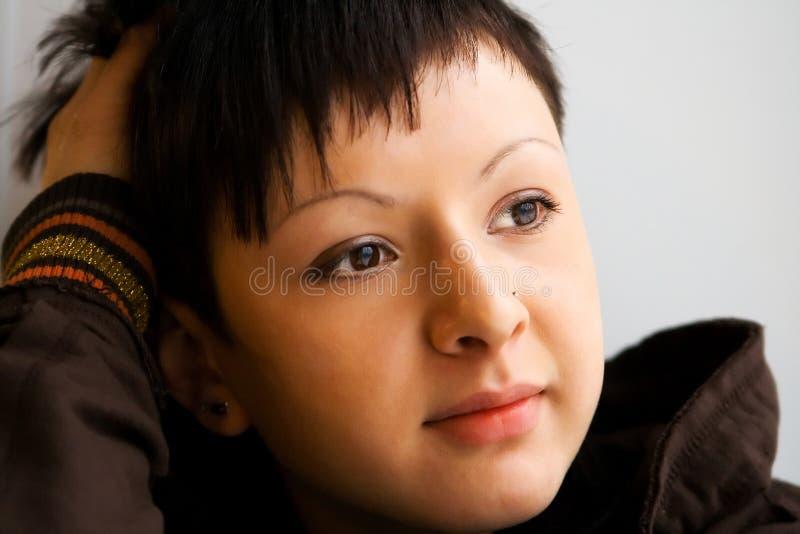 Het gezicht van de schoonheid stock foto's