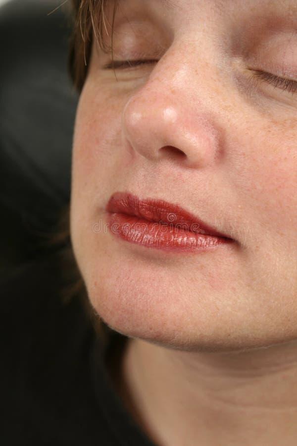 Download Het gezicht van de vrouw stock afbeelding. Afbeelding bestaande uit stel - 289299