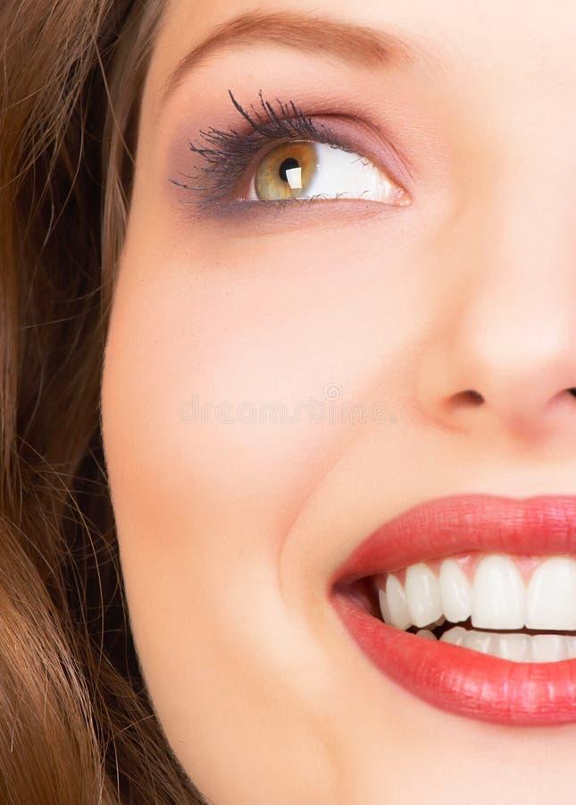 Het gezicht van de vrouw royalty-vrije stock afbeeldingen