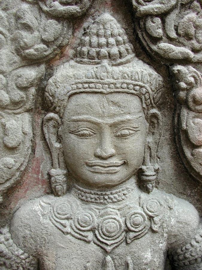 Het Gezicht Van Devi Royalty-vrije Stock Afbeelding