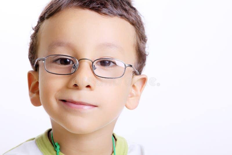 Het gezicht van het kind stock foto