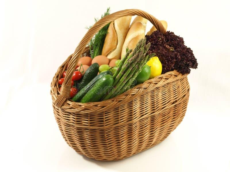 Het gezonde dieet winkelen royalty-vrije stock foto