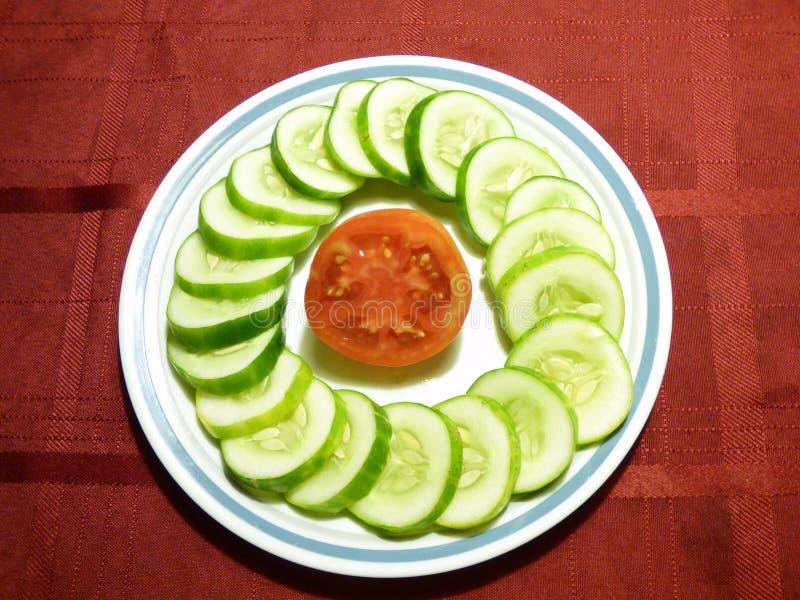 Het gezonde Eten stock foto