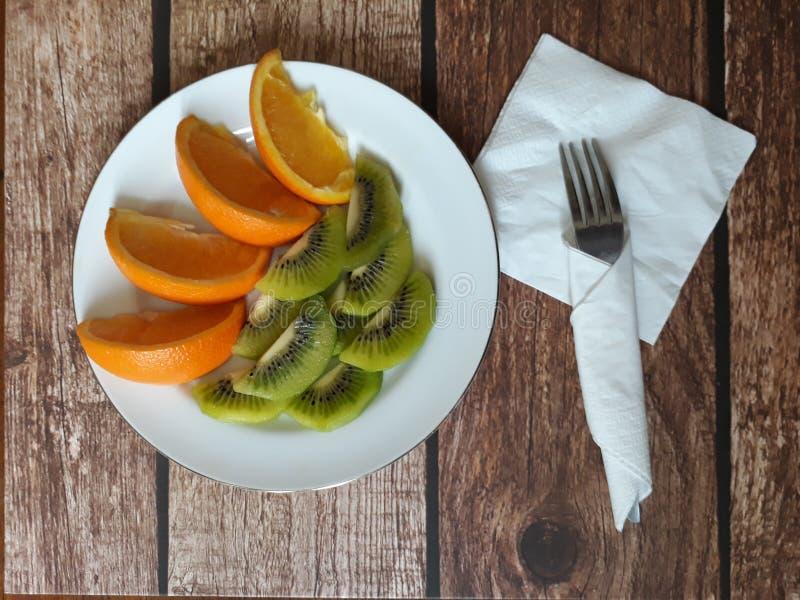 Het gezonde fruit van het voedsel vrije pesticide stock foto's
