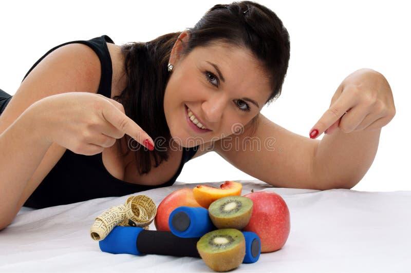 Het gezonde leven stock foto