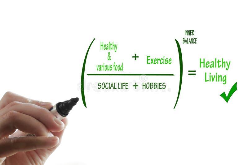 Het gezonde leven royalty-vrije stock afbeeldingen