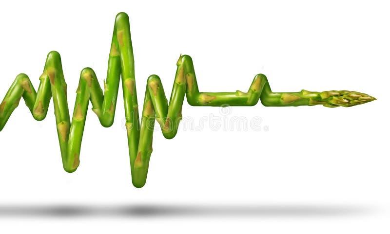Het gezonde Leven stock illustratie