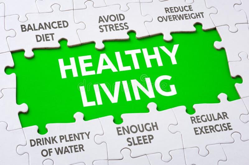 Het gezonde Leven stock afbeelding
