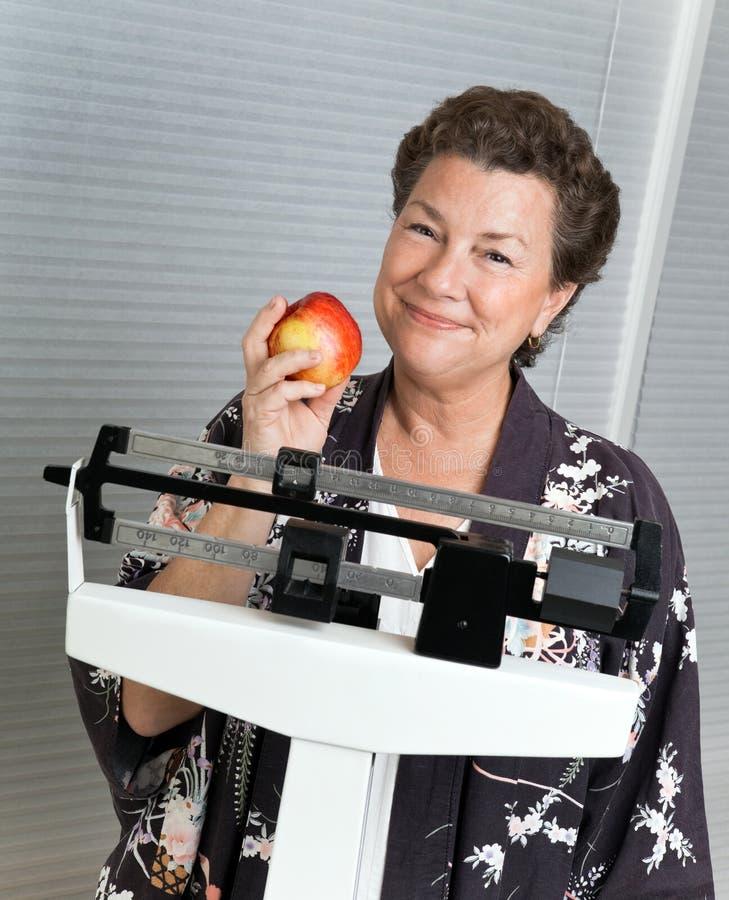 Het gezonde Op dieet zijn royalty-vrije stock fotografie