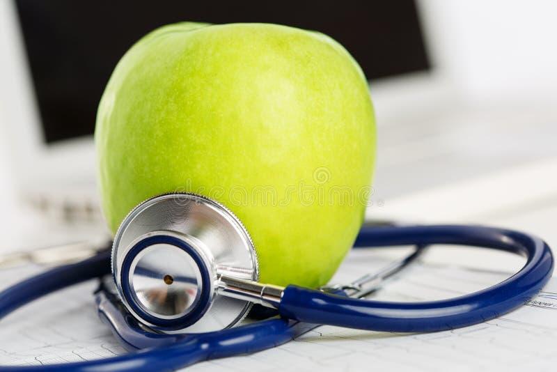 Het gezondheidsleven en gezond voedselconcept royalty-vrije stock foto's