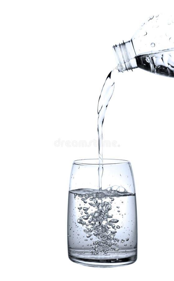 Het gieten van water stock afbeelding