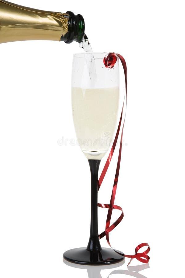 Het glas van Champagne royalty-vrije stock foto's