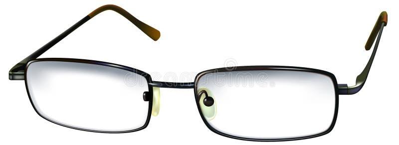 Het glas van de bril vector illustratie