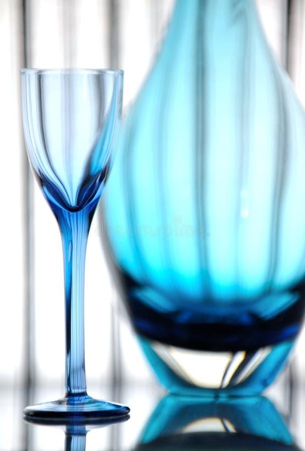 Het glas van de likeur stock afbeeldingen