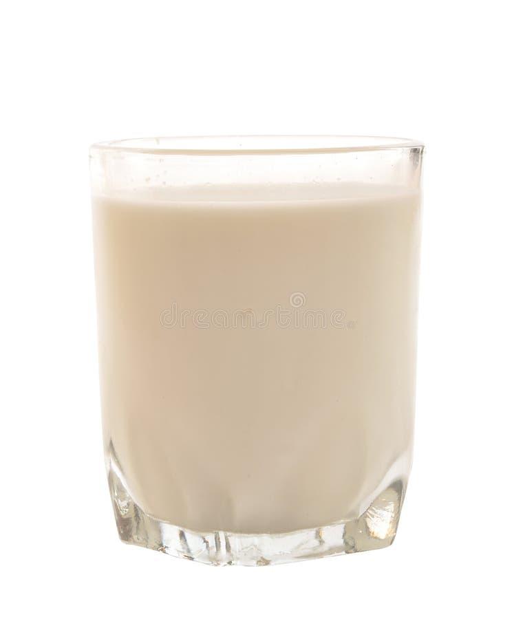 Het glas van de melk royalty-vrije stock fotografie