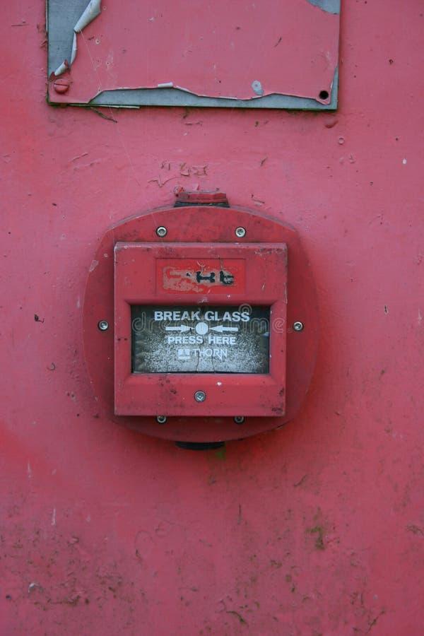 Download Het Glas Van De Onderbreking Stock Afbeelding - Afbeelding bestaande uit waarschuwing, glas: 31615