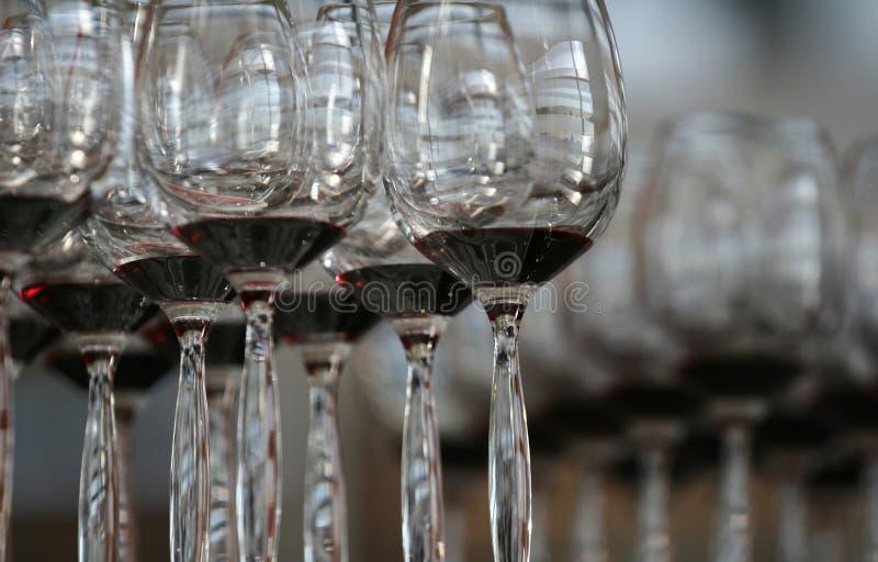 Het glas van de wijnstok royalty-vrije stock foto's