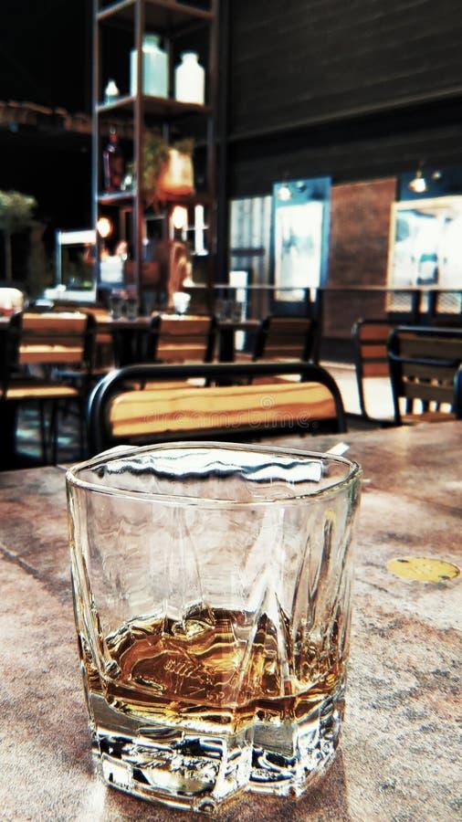 Het Glas van de wisky stock foto's