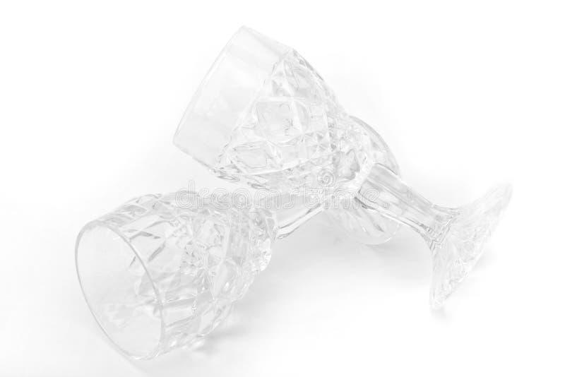 Het Glas van het kristal stock afbeeldingen