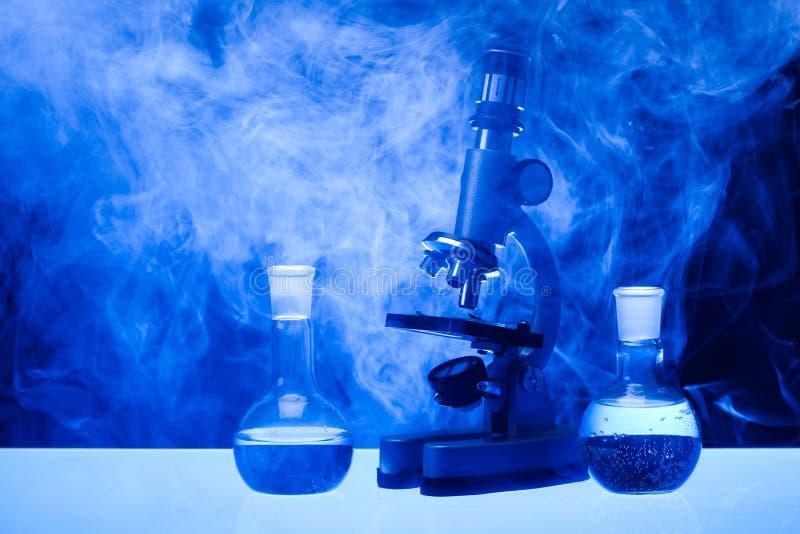 Het glas van het laboratorium royalty-vrije stock foto's
