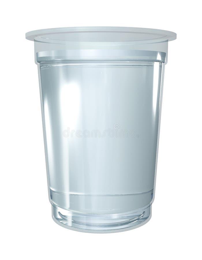 Het glas van het water royalty-vrije stock afbeelding