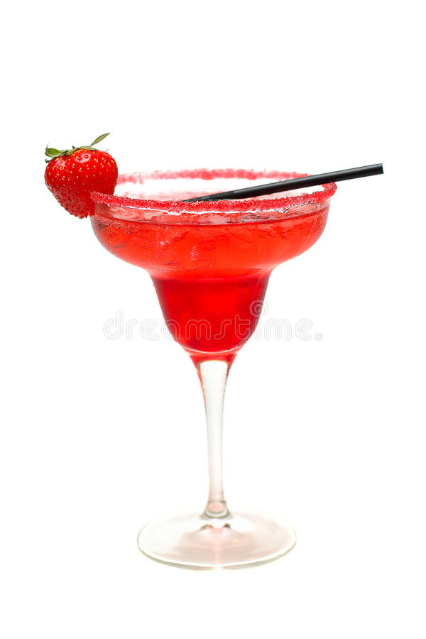 Het glas van Margarita Cocktail royalty-vrije stock fotografie