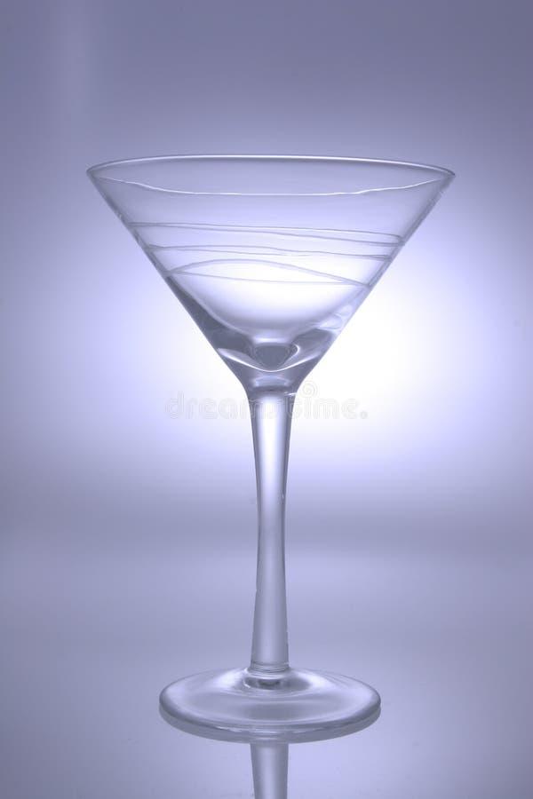 Het Glas van martini stock foto