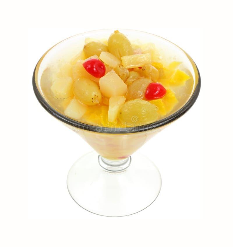 Het Glas van Martini van de Cocktail van het fruit royalty-vrije stock afbeeldingen