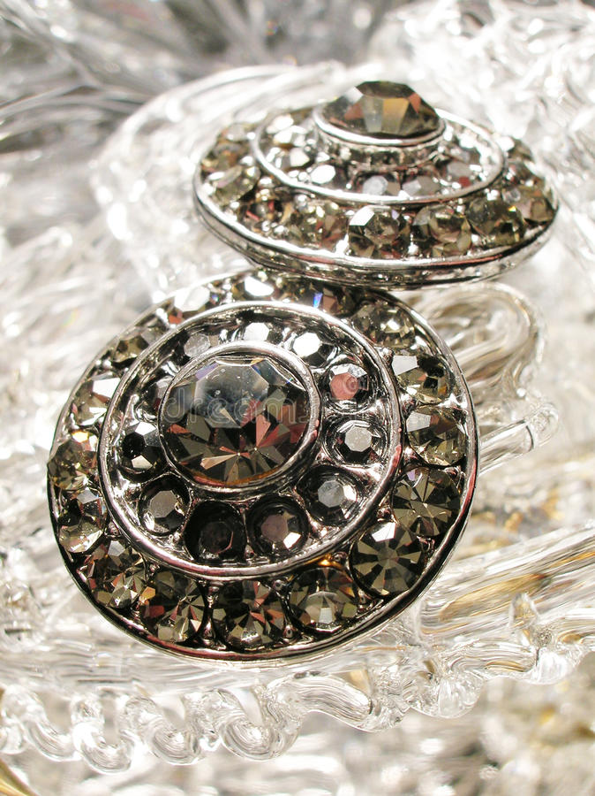 Het glasjuwelen van het kristal royalty-vrije stock fotografie