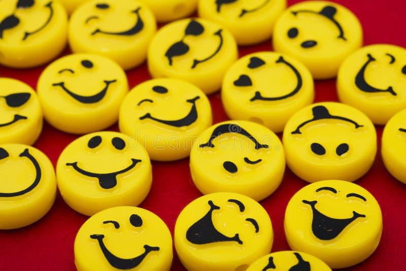 Het glimlachen Achtergrond royalty-vrije stock afbeelding