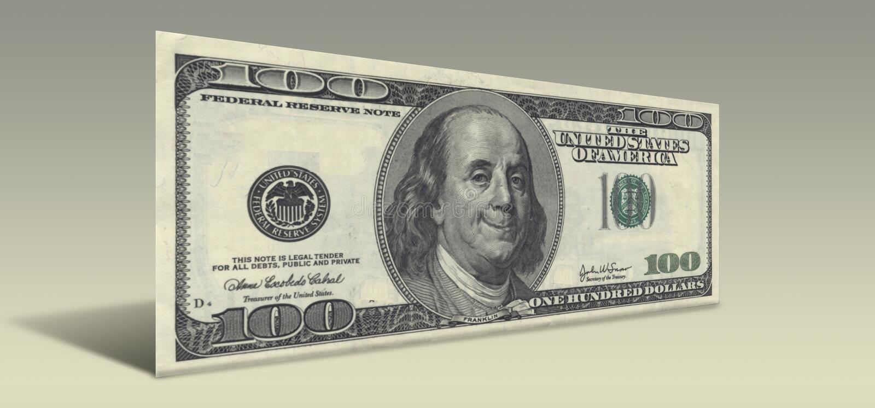 Het Glimlachen Ben Franklin Royalty-vrije Stock Foto