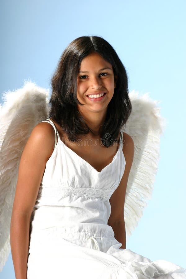 Het glimlachen Engel royalty-vrije stock fotografie