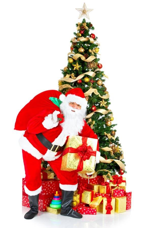 Het glimlachen Kerstman royalty-vrije stock foto