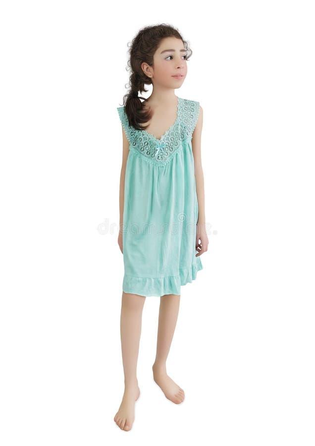 Het glimlachende kleine meisje stock afbeelding
