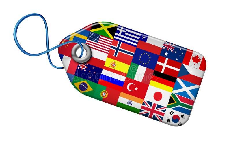 Het globale Concept van Markten royalty-vrije illustratie