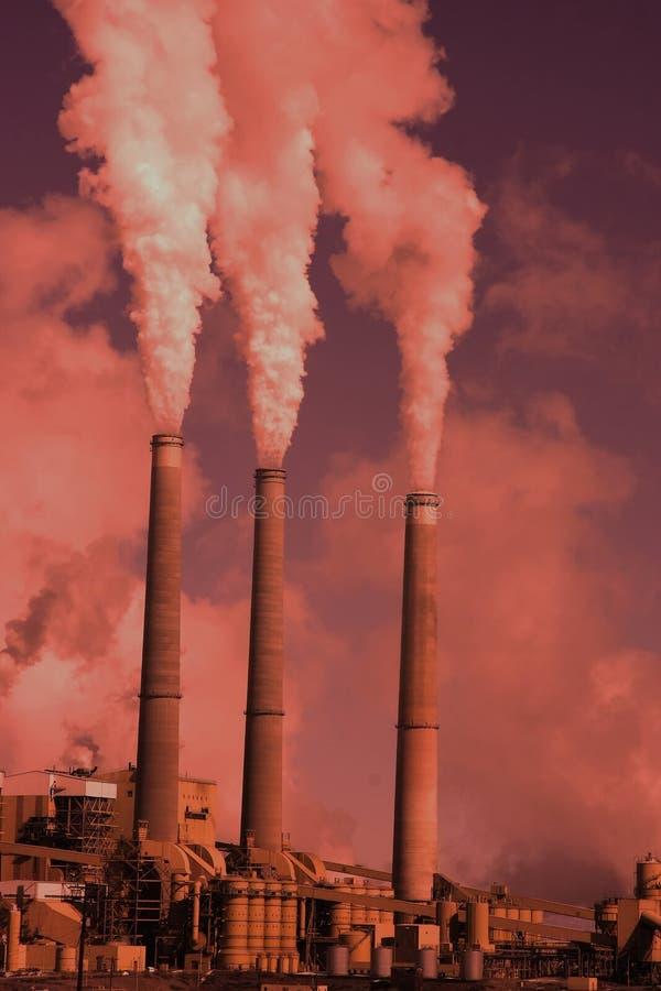 Het globale Verwarmen stock foto