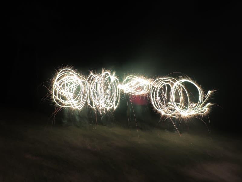 Het gloeien Lichten stock afbeelding