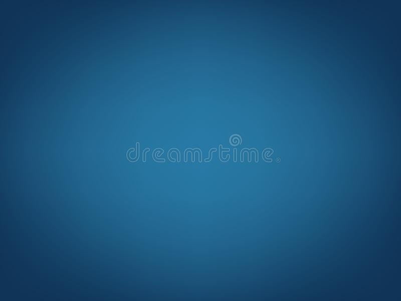 Het gloeiende vlotte malplaatje van de gradiëntwebsite, de grafische bannerkopbal of sidebar, vertroebelden blauwe abstracte acht royalty-vrije illustratie