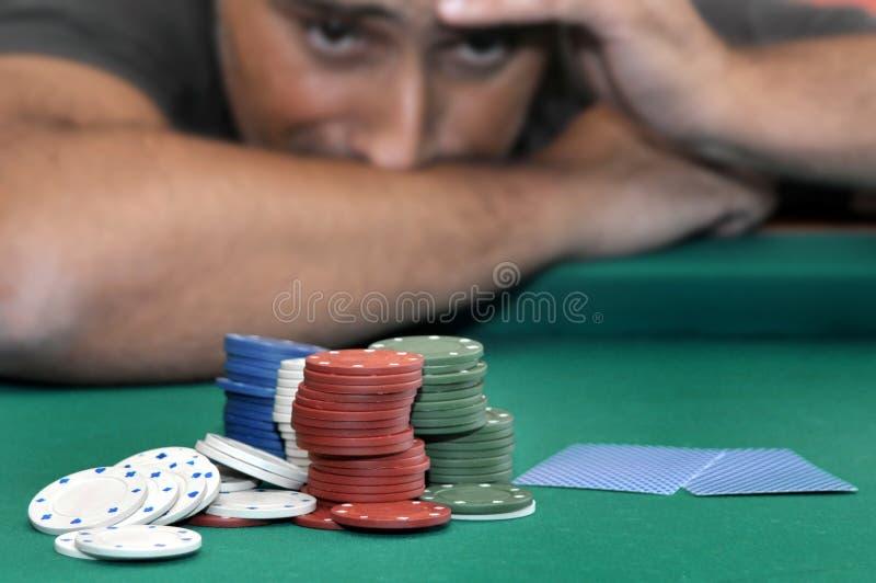 Het gokken stock foto