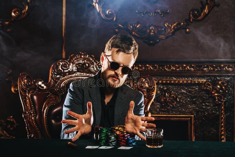 Het gokken in casino royalty-vrije stock foto