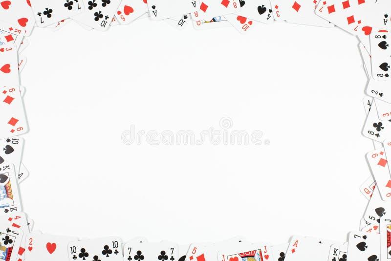 Het gokken frame stock afbeelding