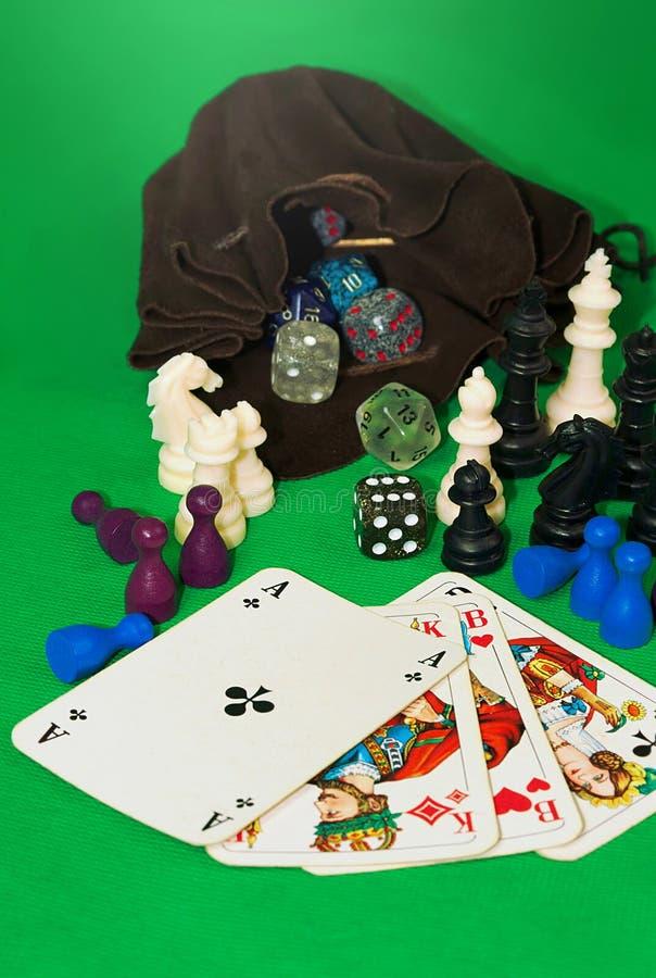 Het gokken van inzameling-ii stock foto's