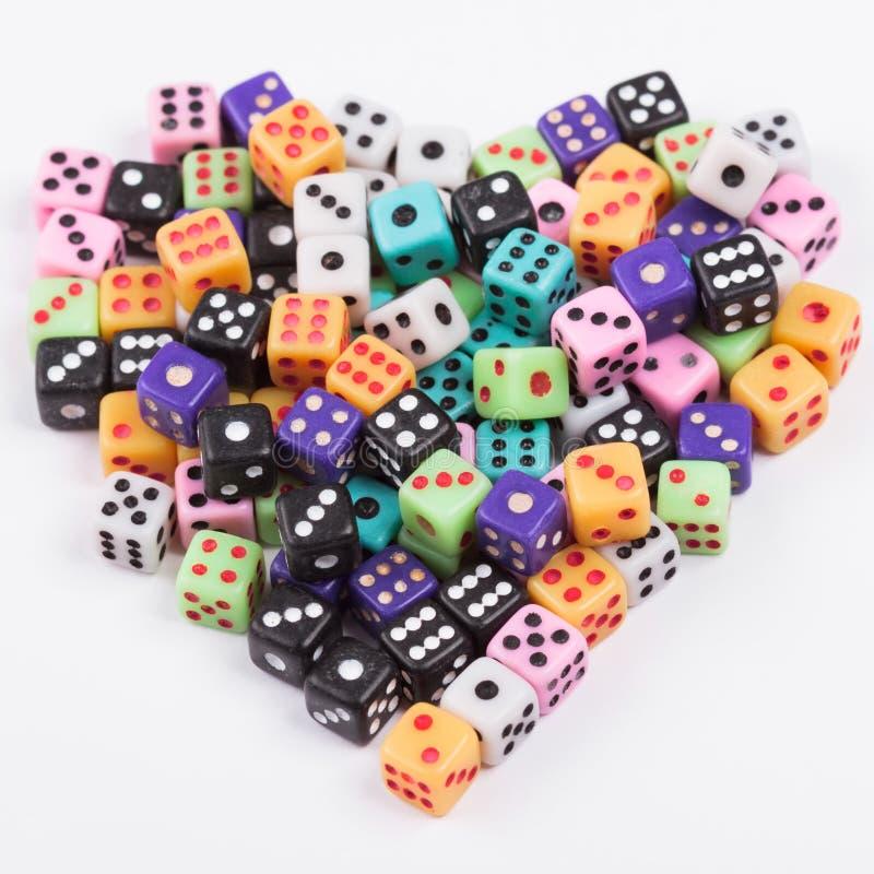 het gokken verslavingsconcept stock foto