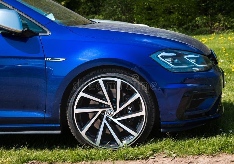 Het Golf R van Volkswagen stock fotografie