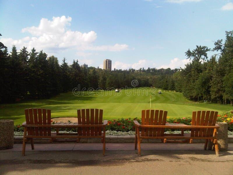 Het Golfcursus van Edmonton stock afbeeldingen