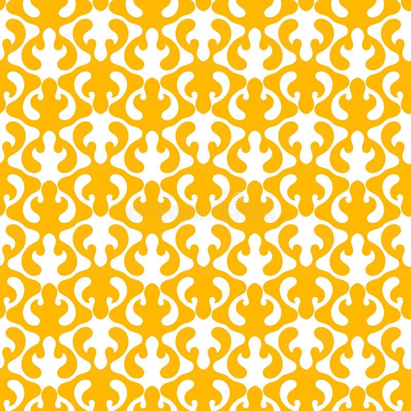 Het golven geometrische patroon naadloze textuur royalty-vrije illustratie