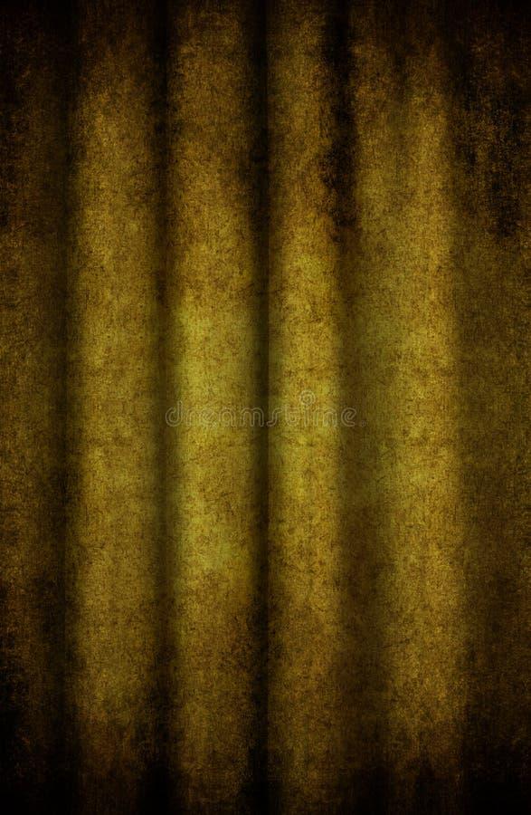 Het gordijn van Grunge royalty-vrije stock foto